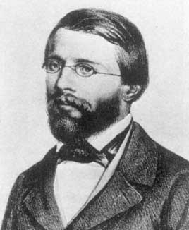 Bernhard Riemann broke past the established doctrine of 'flat' Euclidean geometry.