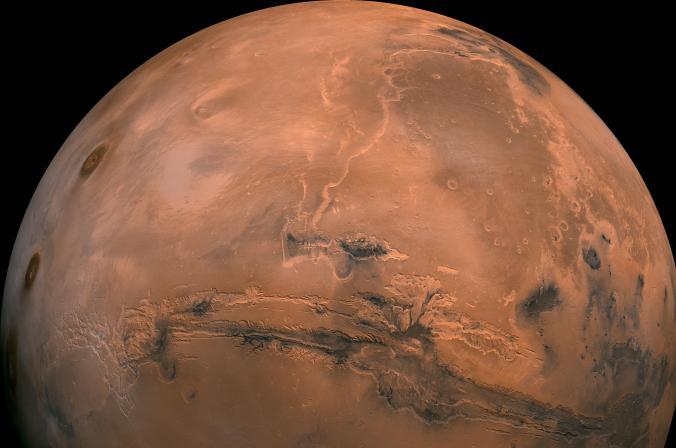 Space Close Mars