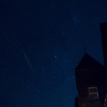 A passing meteor at the Torridon