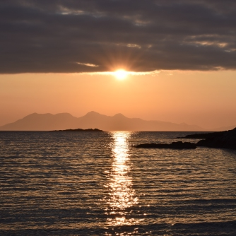 Sunset at Arasaig